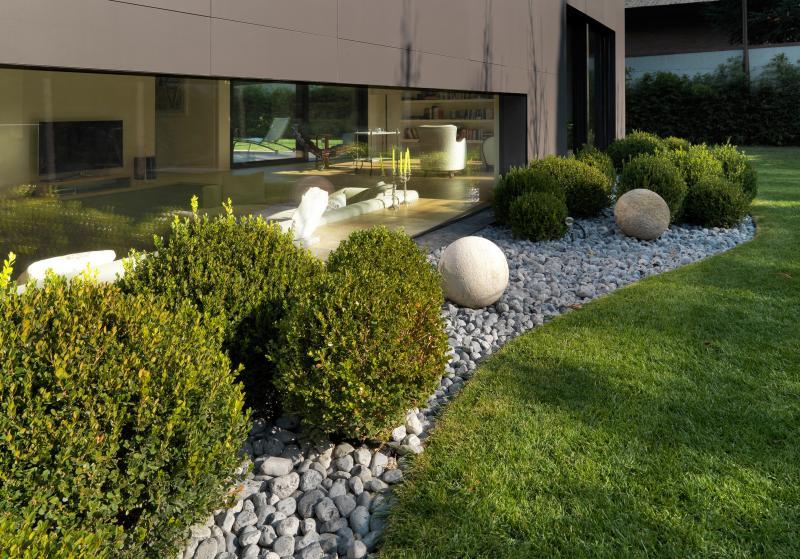 Come progettare i tuoi spazi guardando il giardino del tuo - Giardino moderno design ...