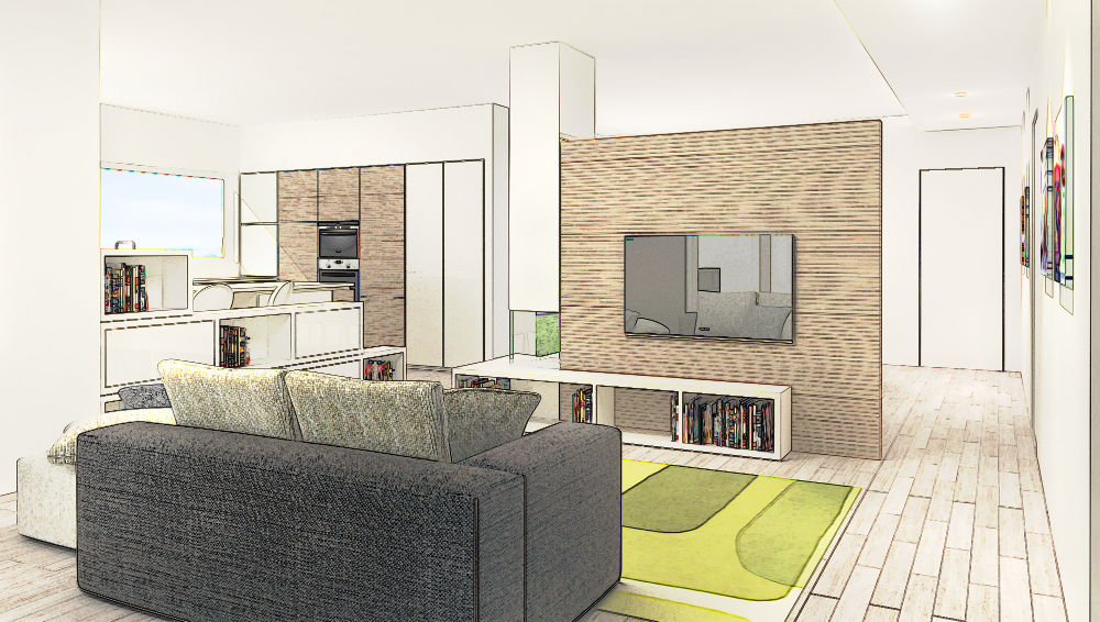 Come progettare e ristrutturare il soggiorno scopri le for Software per ristrutturare casa